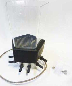 8 nozzle heated mixer jar