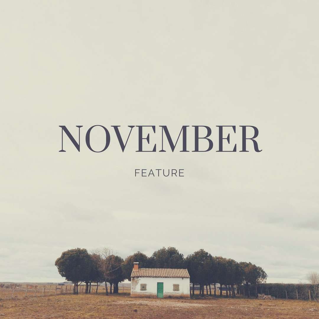 November feature home page