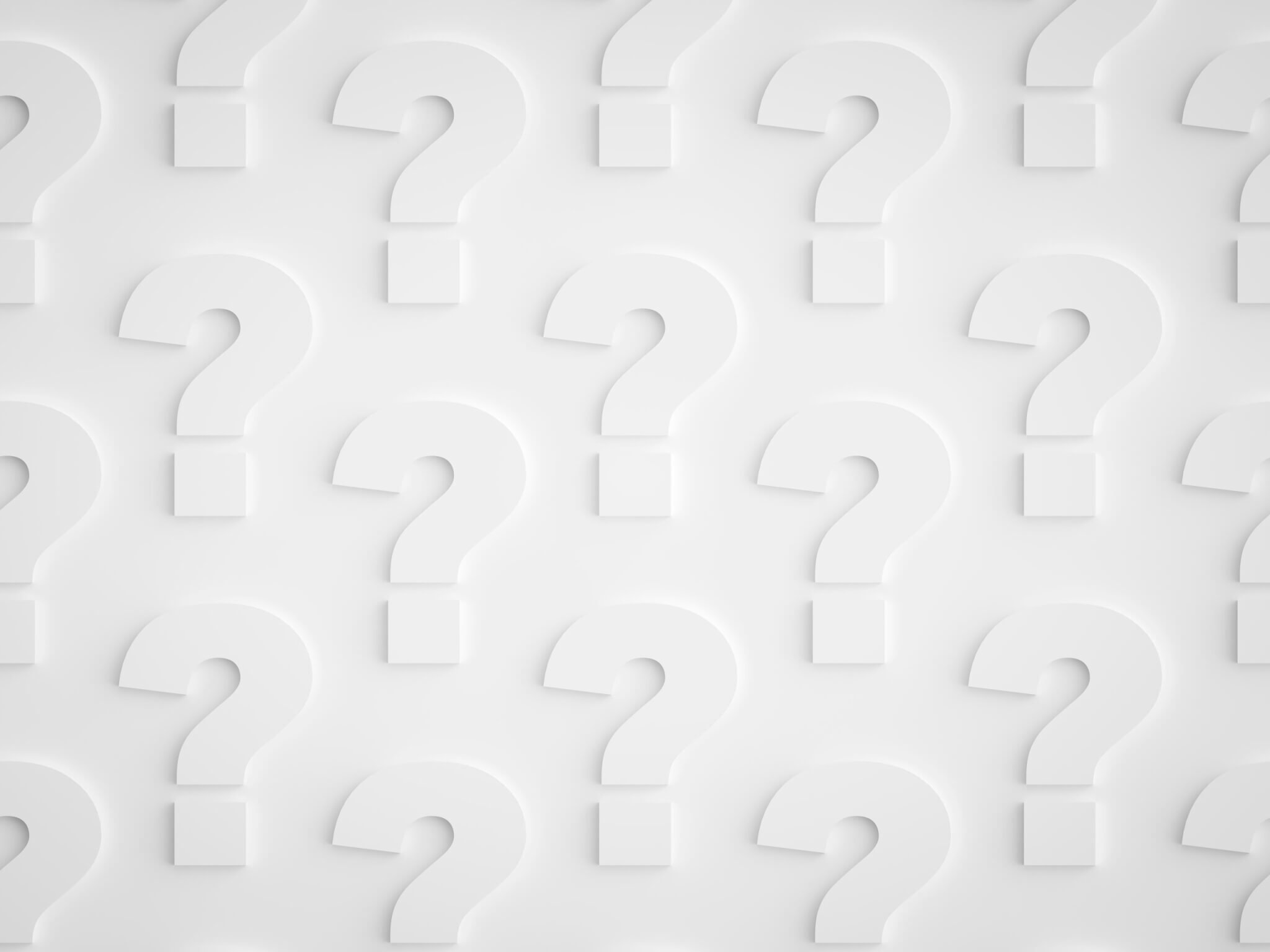 why grober background of question marks